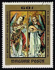 Buy Hungary #2251 Angels Playing Violin and Lute; CTO (0.25) (5Stars) |HUN2251-02