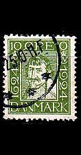 Buy DÄNEMARK DANMARK [1924] MiNr 0134 ( O/used )