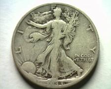 Buy 1933-S WALKING LIBERTY HALF FINE F NICE ORIGINAL COIN BOBS COINS FAST SHIPMENT