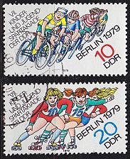 Buy GERMANY DDR [1979] MiNr 2433-34 ( OO/used ) Sport