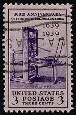 Buy US #857 Printing Tercentenary; Used (3Stars) |USA0857-12