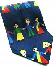 Buy Save The Children Helping Children And Their Families Novelty 100% Silk Tie