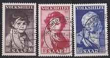 Buy GERMANY Saar [1952] MiNr 0338-40 ( O/used )
