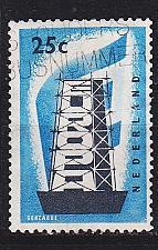 Buy NIEDERLANDE NETHERLANDS [1956] MiNr 0684 ( O/used ) CEPT