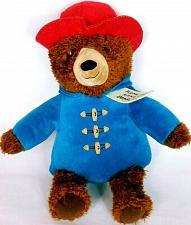 "Buy Kohls Cares Paddington Bear Plush Blue Coat Red Hat Stuffed Animal 14.5"""