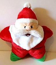 "Buy Christmas Star Shape Santa Claus Plush Toy 12"" Sugar Loaf"