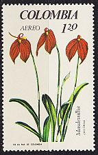 Buy KOLUMBIEN COLOMBIA [1967] MiNr 1101 ( **/mnh ) Blumen