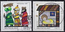 Buy GERMANY BUND [1997] MiNr 1959-60 ( O/used ) Weihnachten