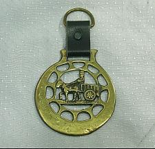 Buy Vintage Horse Brass Harness Medallion Ornament Leather Strap Cart Man Carriage