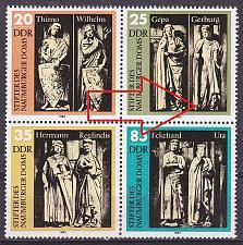 Buy GERMANY DDR [1983] MiNr 2808 4er F04 ( **/mnh ) Plattenfehler
