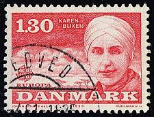 Buy Denmark #664 Karen Blixen; Used (3Stars) |DEN0664-01XBC