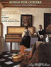 Buy Telemann - Sonata in E Minor for Tenor Saxophone and Piano