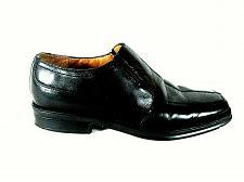 Buy Nunn Bush Black Leather Square Toe Slip On Dress Loafers Shoes Men's 8.5 M (SM2)