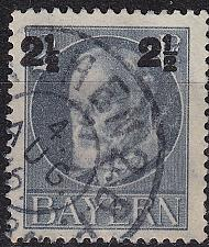 Buy GERMANY Bayern Bavaria [1916] MiNr 0111 A ( O/used )