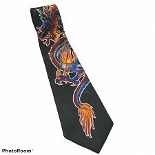 Buy Fiery Dragons Mythical Asian Flaming Novelty Necktie