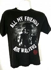 Buy The Walking Dead Men's T-Shirt Medium Graphic All My Friends Are Walkers