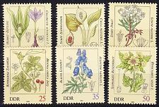 Buy GERMANY DDR [1982] MiNr 2691-96 ( **/mnh ) Pflanzen