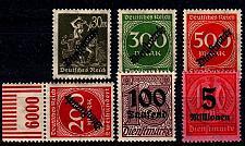 Buy GERMANY REICH Dienst [Lot] 03 ( **/mnh )