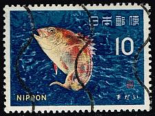 Buy Japan #862 Bream Fish; CTO (3Stars) |JPN0862-05XVA