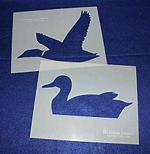 """Buy Large Duck 2 Piece Stencil Set 14 Mil 8"""" X 10"""" Painting /Crafts/ Templates"""