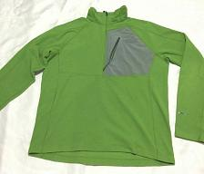 Buy The North Face FlashDry men's Fleece Light Sweater Size L 1/2 Zipper pull up
