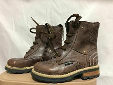 Buy Roberto cavalli brown DEVILS Boots Boy`s size 11.5