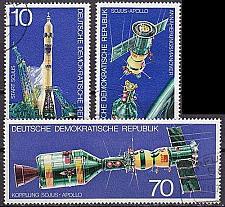 Buy GERMANY DDR [1975] MiNr 2083-85 ( OO/used ) Raumfahrt