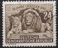Buy GERMANY DDR [1953] MiNr 0397 ( OO/used ) Tiere