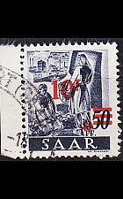 Buy GERMANY Saar [1947] MiNr 0235 II/I ( O/used ) [02]