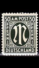 Buy GERMANY Alliiert AmBri [1945] MiNr 0032 a A ( **/mnh )