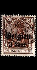Buy GERMANY REICH Besetzung [Belgien] MiNr 0011 a III ( O/used )