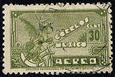 Buy Mexico #C136 Symbolical of Flight; Used (0.75) (2Stars) |MEXC136-01XRS