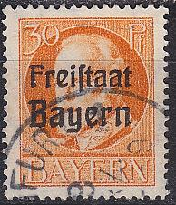 Buy GERMANY Bayern Bavaria [1919] MiNr 0159 A ( O/used )