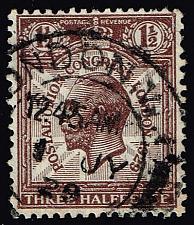 Buy Great Britain #207 King George V; Used (2Stars) |GBR0207-04XRS