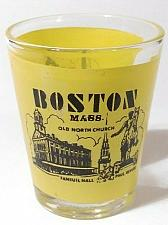 "Buy Boston Massachusetts Old North Church Paul Revere 2.25"" Collectible Shot Glass"
