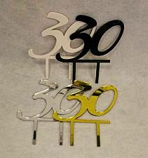 Buy Birthday Cake Toppers - 30 - Assorted Colors