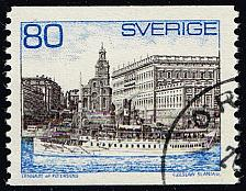 Buy Sweden #749 Steamer and Royal Palace; Used (3Stars) |SVE0749-06