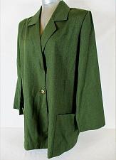 Buy ROAMANS womens Sz A6 L/S green 1 BUTTON 2 pocket jacket (A3)