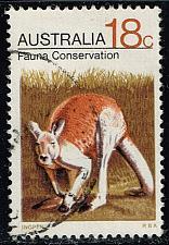 Buy Australia #502 Kangaroo; Used (0.35) (2Stars) |AUS0502-01XBC