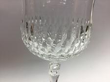Buy Cut glass goblet 24% lead crystal nice quality