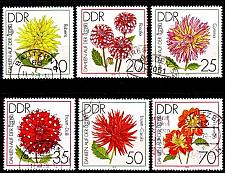 Buy GERMANY DDR [1979] MiNr 2435-40 ( OO/used ) Blumen