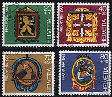 Buy SCHWEIZ SWITZERLAND [1983] MiNr 1251-54 ( O/used ) Pro Patria