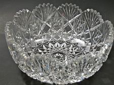 Buy Cut glass ABP bowl blown blank Antique