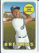 Buy Lorenzo Cain 2018 Topps Heritage High Numbers SP