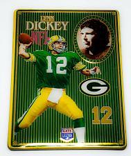 Buy NFL 1993 Metallic Images Quarterback Collection Metal Card #4 LYNN DICKEY