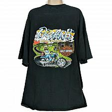 Buy Harley Davidson Mens Ozark Lebanon Hillbilly Ride Hard T-Shirt Black Size 2XL