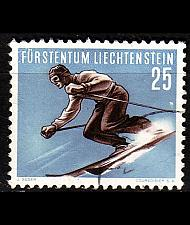 Buy LIECHTENSTEIN [1955] MiNr 0336 ( O/used ) [01] Sport