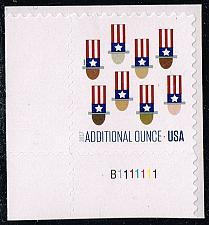 Buy US #5174 Uncle Sam's Hat; MNH P# Single (0.45) (5Stars) |USA5174-03