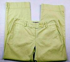 Buy Vineyard Vines Women's Capri Pants Size 0 Cape Fit Pastel Solid Green