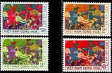 Buy VIETNAM SÜD SOUTH [1959] MiNr 0180-83 ( **/mnh )